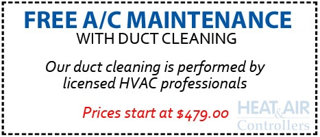 Free AC maintenance with Duct Cleaning